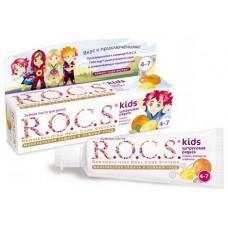 """R.O.C.S. Зубная паста для детей """"Лимон, апельсин и ваниль"""", 45 гр."""