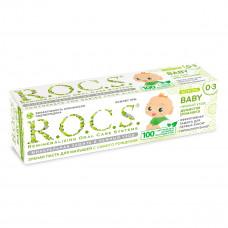 R.O.C.S. Зубная паста для детей 0-3 лет душистая ромашка