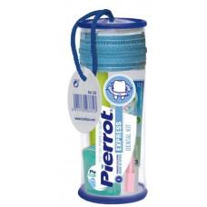 Дорожный набор Express Dental Kit (щетка, паста, межзубный ершик, флосс) 8411732933313